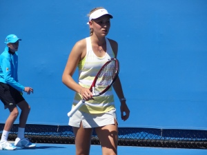 Vekic: confident and composed